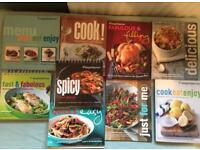 9 Weight Watchers old points recipe books