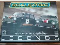 Scalextric cars Legends edition minis. New