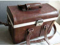 Hard Case for Camera / Gadget / Lens, Brown