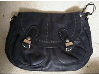 Bailey and quinn black leather bag