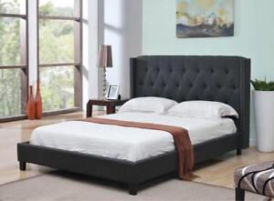 KING PLATFORM BED - ALSO AVAILABLE BEST QUEEN BED FRAMES. WEBSITE- WWW.KITCHENANDCOUCH.COM (IF84)