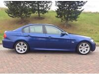 2007 BMW 320D M SPORT LE MANS BLUE 2 KEYS DRIVES LOVELY A4 C220 330D 320i 520d 530d
