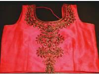 Beautiful Indian Wedding Top Skirt Saree