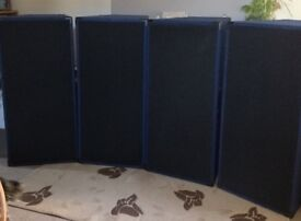 """Trapezoid Dual 15"""" Sub and Dual 12"""" Mid/Hi PA System Package"""