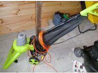 Garden Gear Garden Vac Leaf Vacuum Electric