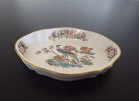 Wedgewood Bone China Ornamental Plate Kutani Crane