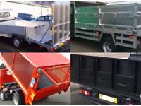 Aluminium steel tipper body builders manufacturers tailgate tailboard tarmac chutes caged body