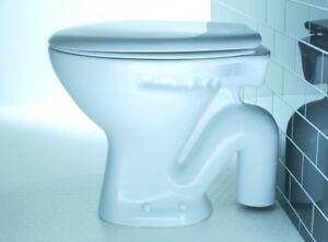 Lecico Atlas S Trap Low Level Pan Round WC Soft Close Seat