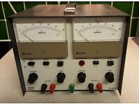 Laboratory bench dual power supply 2 x 30V