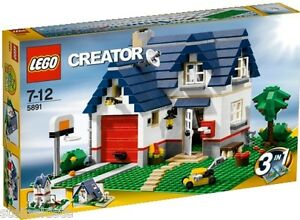 LEGO® Creator - Haus mit Garage 5891 Apple Tree House NEU & OVP