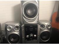 Panasonic stereo system 5 CD changer MP3