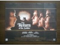the return of the soldier ' original cinema poster