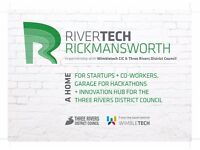 Rivertech - Amazing new affordable coworking hub in Rickmansworth, Hertfordshire - from only £65
