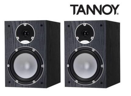 Tannoy Mercury 7.2 Black Oak Bookshelf Speakers (Pair) RRP $799
