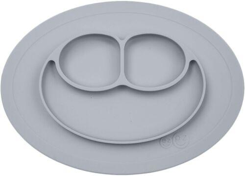 ezpz Mini Happy Mat Placemat 8 oz - PEWTER