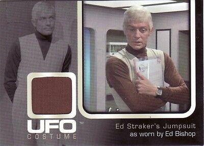 UFO TV Series Rare Ed Bishop as Cmdr. Ed Straker UC001 Costume Card