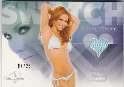 Jennifer Korbin 2014 Benchwarmer Treasure Chest 2008 Limited SWATCH 07/25 *M981