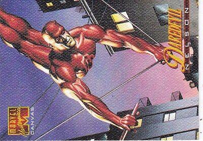 1995 Marvel Masterpiece  Canvas Card #5-Daredevil  vf/nm
