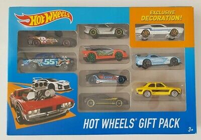 Hot Wheels 9 Gift Pack '70 Ford Escort RS1600 Yellow HTF RX7 Chevy Gasser Dodge