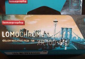 Lomography Lomochrome Turquoise 120 Film