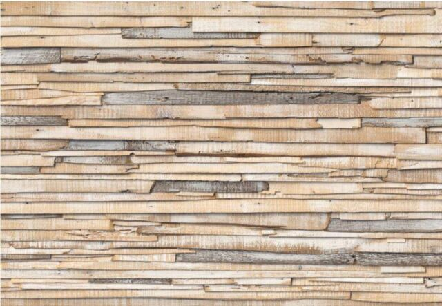 Papier Fototapete 8-920  Whitewashed Wood B 368 x L 245 cm [Komar]