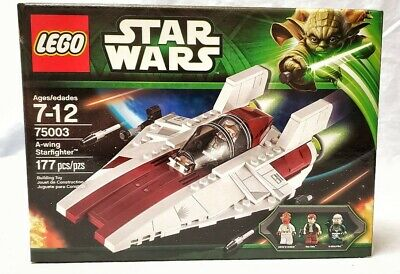 LEGO Star Wars A-wing Starfighter (75003) MINT IN BOX