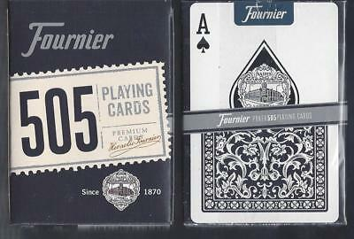 1 DECK Fournier 505 BLUE playing cards