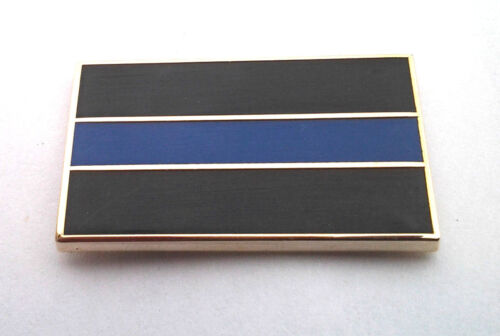 POLICE BLUE LINE HONOR Law Enforcement Hat Pin P02019 EE