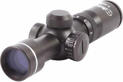 Sun Optics 2-6X28 Illuminated Reticle With Rheostat CS24-2628IRC Riflescope