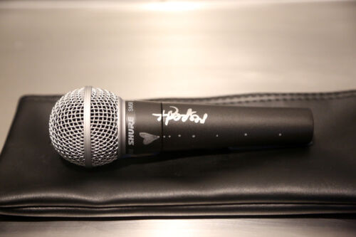 MC GRAMMY® Nominee Regina Spektor Signed Shure SM58 Microphone