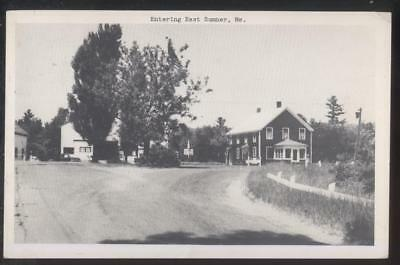 Postcard EAST SUMNER Maine/ME  Local Area Town Square House & Building (Town East Square)