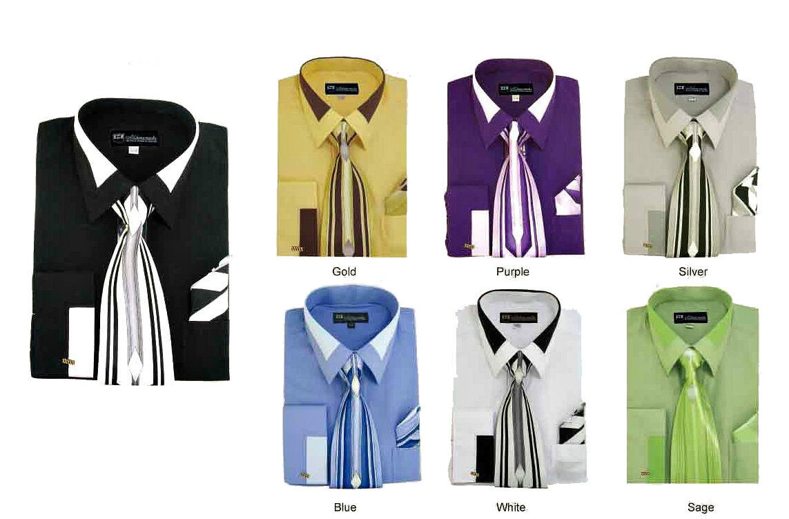 suit and shirt color combinations