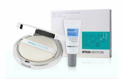 Ipkn Perfume Powder Pact 14.5g + Free base  For Oily Skin