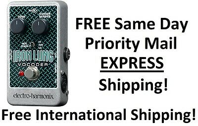 New Electro Harmonix Ehx Iron Lung Vocoder Guitar Effects Pedal