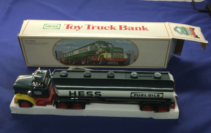 1984 Hess Toy Truck Bank. BRAND NEW, NEVER USED!!!