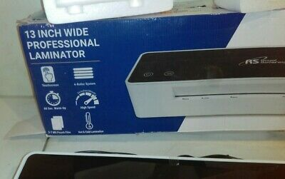 """Royal Sovereign 13/"""" Inch 4 Roller Touchscreen Pouch Laminator IL-1346W"""