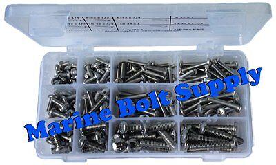 Type 316 Stainless Steel Phillips Drive Pan Head Machine Screw Assortment Kit