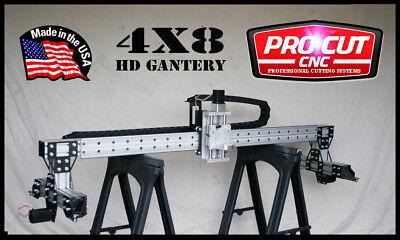 Procutcnc Hd5100g 4x8 Hd Cnc Gantry Router Or Plasma Kit Soft Touch Z Axis
