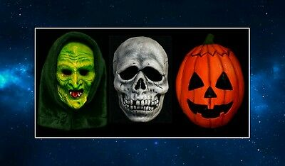 The Three Masks Fridge Magnet. NEW Inspired by Halloween III / 3. Pumpkin, - Halloween Iii Pumpkin