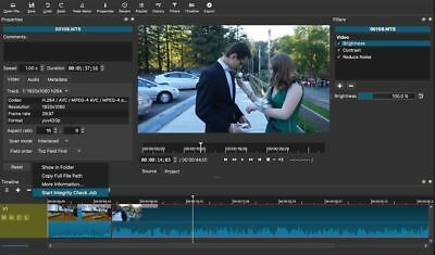 PRO Video movie  Editor Software  on disc for Windows and Mac Shotcut