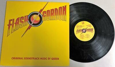 FLASH GORDON ORIGINAL MOTION PICTURE SOUNDTRACK BY QUEEN LP ELEKTRA 5E-518 1980, usado comprar usado  Enviando para Brazil