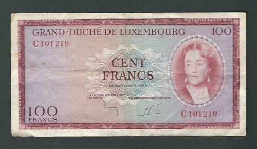 Luxembourg - 100 Francs 19463