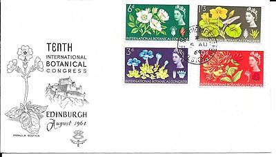 1964 Botanical Congress (ord) FDC