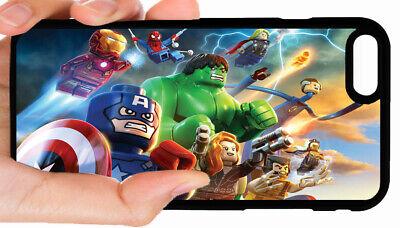 LEGOS MARVEL SUPERHEROES PHONE CASE FOR IPHONE XR XS MAX 8 PLUS 7 6S 6 PLUS 5 5C
