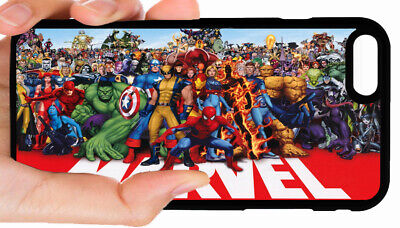 MARVEL SUPERHEROES PHONE CASE COVER FOR IPHONE XR XS MAX 8 PLUS 7 6S 6 PLUS 5 5C