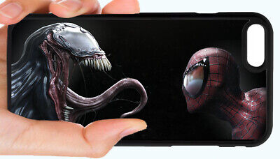 VENOM SPIDERMAN PHONE CASE COVER FOR IPHONE XR XS 8 PLUS 7 6S 6 PLUS 5S 5 5C 4S