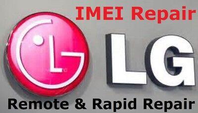 RAPID Remote IMEI Repair LG G4/G5/G6/K7/K10/K20 Plus/Stylus/V10/V20 UNBARRING