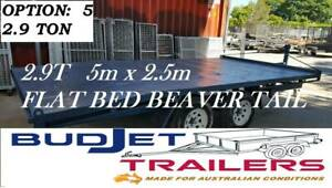 TRAILER HIRE BRISBANE QLD 2.9T FLAT DECK TRAILER FROM $90 P/D THIS AD