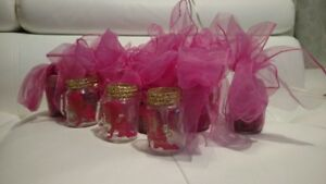 Gender Reveal Baby Girl Favors/ Baby Shower