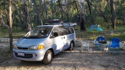 Best equipped Campervan Mitsubishi Starwagon GLX Automatic